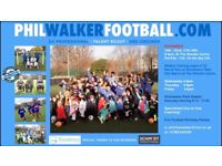 Christmas football camp Phil Walker
