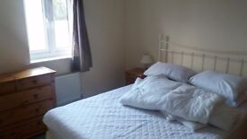 Fully furnished double room to rent. £350 per month including bills. Close to M4. Available now.
