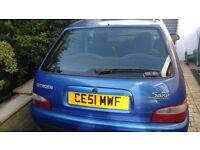 Citroën saxo four door hatchback