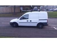 vauxhall combo 13cdti 88000 miles spares or repair hot start problem mot may 2017. linlithgow