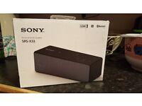 Sony personal audio system SRS-X33 brandnew