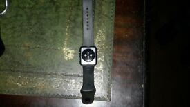 Apple watch space grey model mj3t2ll/a 42 mm in good working order