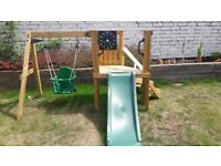 Swing & Slide Set (ELC) - wooden