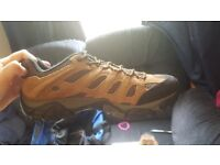 NEVER BEEN USED: Men's Merrell Hiking Boots UK Size 9