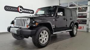 2012 Jeep Wrangler Unlimited SAHARA + NAVIGATION + TOIT MOU