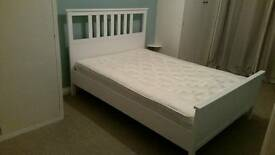 New double bed for sale (ikea)