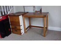 Bespoke Sewing Station-Handmade Cabinet for Storage and Table