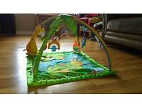 Fisher price rainforest play mat / play gym