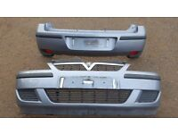 Vauxhall Corsa C Front and Rear Facelift Bumpers plus Wings and Bonnet