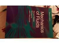 Mechanics of fluids book