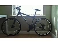 CARRERA VULCAN Mountain bike 18 inch frame disc brakes 21 gears adjustable suspension
