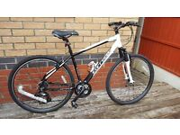 Carrera Crossfire mens 21 speed mountain bike. As new, ridden only once. £185