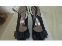 LADIES SLING BACK SHOES SIZE 5