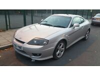 2006 HYUNDAI COUPE SE AUTOMATIC SILVER/MOT/ FSH/2 Keys/Perfect Condtion