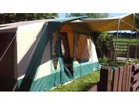 Six berth Cabanon Athena Canvas Frame tent