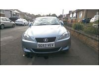 LEXUS IS220 DIESEL - LOW MILEAGE FULL YEAR MOT