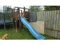 For sale garden jungle gym with slide