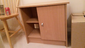 Small wooden unit