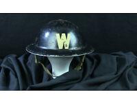 WW2 Air Raid Wardens helmet.