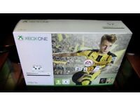 XBOX ONE S FIFA 2017 500GB CONSOLE IN V GOOD CONDITION
