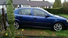 Vauxhall astra 1.6 club 2002