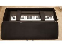 Yamaha P60 electronic keyboard piano 88 fully weighted keys and FREE Gator roller carry case £250