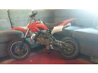 50 cc mini dirtbike