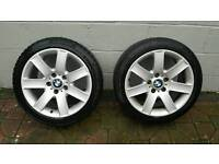 Bmw 17in alloy wheels for sale.