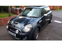 2007 Only 53k MINI 1.6 Cooper S 3dr LEATHER HEATED SEATS - XENONS - PAN ROOF-172 BHP-1 YEAR FULL MOT