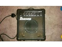 Ibanez ibz10a bass guitar combo amp amplifier