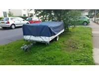 Old trailer tent would make a good trailer