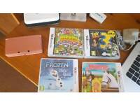 NINTENDO 3DS SET WITH GAMES