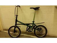 Jaunty JT-C Carbon Framed Folding Road Bike - only 7.15kgs - Brompton,Dahon,Specialised,Trek