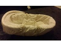 New Mama's& Papa's moses basket with stand