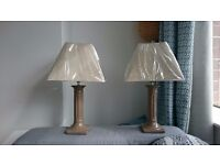Pair of Living Room/ Bedroom Table Lamps