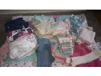 Bundle of 3-6 months girls clothes