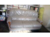 Grey oyster sofa. Copley Mill 2nd hand furniture Stalybridge SK15 3DN