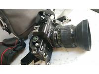 PRAKTICA B100 WITH SIGMA 35-70mm F/2.8-4 LENS