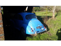 Morris Minor 1959 running project loads of spares
