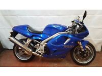Triumph Daytona 955i R reg 1997 Blue MOTED Motorbike Motorcycle Can Be Delivered Part Ex Welcome