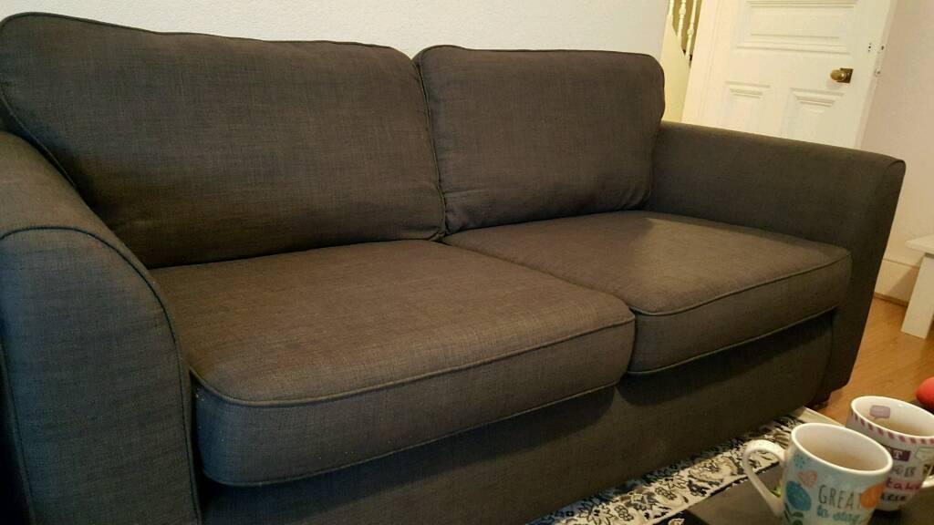 Fabric sofa 3 seaters