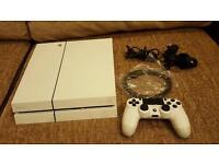 Playstation 4 500gb Glacier White