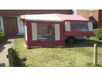 Peninine Aztec folding trailer tent