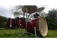 Mapex M Birch Drum Kit