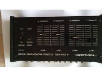 for sale a realistic 4 channel stereo/mono mixer good working order