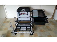 Nordic Octbox Seat Box Brand New Never used. additional bait trays, for Fishing tackle, pole angling