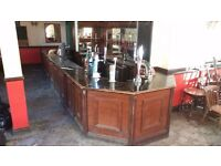 pub bar counter - FREE to collector - must be collected by Monday 1st April