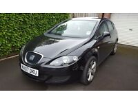 2007 SEAT Leon 1.6 ONLY 60,000 MILES. 5 dr