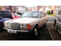 Classic Mercedes-Benz W123 200 for sale *PRICE REDUCED*