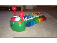 LITTLE TIKES BUG TUNES CATERPILLAR 2-IN-1 PIANO AND XYLOPHONE